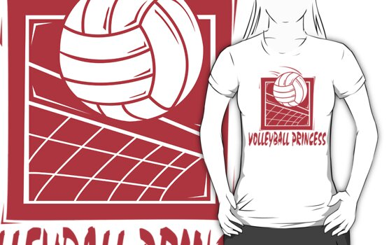 Volleyball Princess Women's by SportsT-Shirts