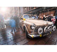 Monte Debutante - 1968 Volvo    Monte Carlo Classic Rally 2013  Photographic Print
