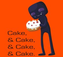 Enderman Likes Cake by SexehTaco