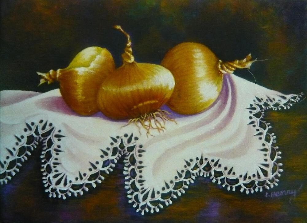 Mama's Onions by Elizabeth Henry by Vivian Eagleson