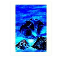 Crystal Stillness Art Print