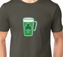 Saint Patrick's Day lucky green beer  Unisex T-Shirt