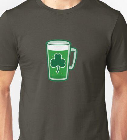 Saint Patrick's Day lucky green beer  Unisex T-Shirt