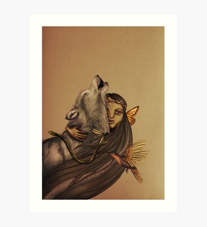 The Mother of Ten Thousand Things Art Print