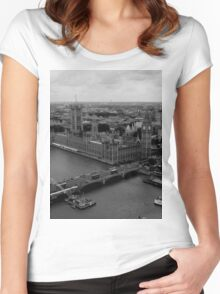 London View Women's Fitted Scoop T-Shirt