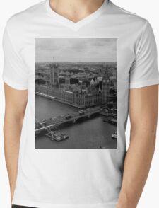 London View Mens V-Neck T-Shirt