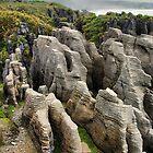 Punakaiki pancake rocks by andreisky