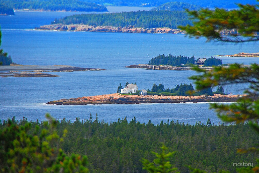 Isolated In Maine by Mary Carol Story