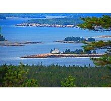 Isolated In Maine Photographic Print
