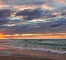 Cuban Sunset by gleadston