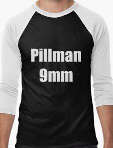 Pillman 9mm Men's Baseball ¾ T-Shirt