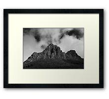 Mount Doom Framed Print