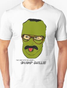 """The man with no heart...Swamp Ghillie""  T-Shirt"