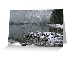 Crystal Water Greeting Card