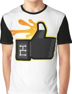 FACEBOOK X GHOSTBUSTERS (GB3 SLIMED) Graphic T-Shirt