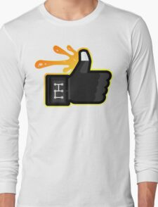 FACEBOOK X GHOSTBUSTERS (GB3 SLIMED) Long Sleeve T-Shirt