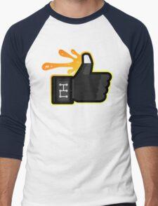 FACEBOOK X GHOSTBUSTERS (GB3 SLIMED) Men's Baseball ¾ T-Shirt
