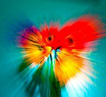 Still Life Flowers by Richard  Windeyer