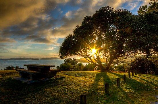 A Summer's Dawn by ValHallen