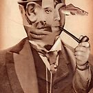 Man Smoking a Pipe. by Andy Nawroski