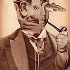 Man Smoking a Pipe. by nawroski .