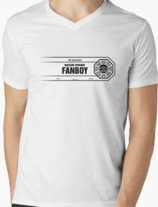 Fanboy Label Mens V-Neck T-Shirt