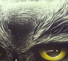 Owl & The Moon Sticker