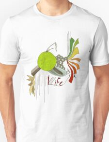 Life Freehand Design T-shirt T-Shirt