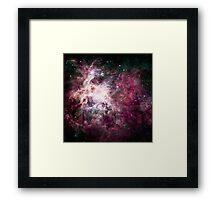Through the Galaxies Framed Print
