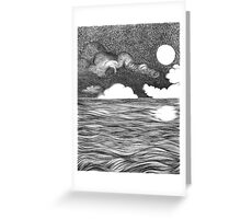 Trancend Ocean Greeting Card