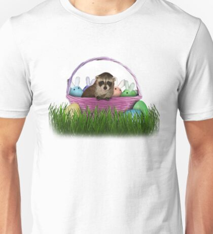 Easter Raccoon Unisex T-Shirt