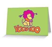 Yoohoo Greeting Card