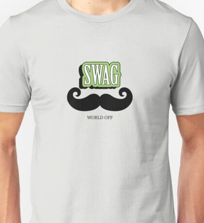 Swag a Mustache VRS2 T-Shirt