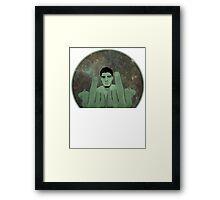 Nick Diaz Framed Print