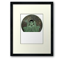 Nick Diaz Framed Print