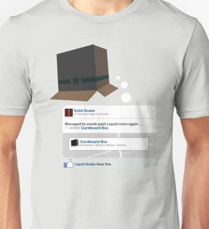 Metal Gear - Status Update Unisex T-Shirt