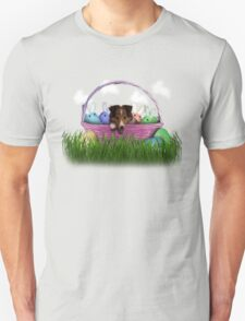 Easter Sheltie Puppy T-Shirt