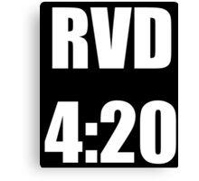 RVD 420 Canvas Print
