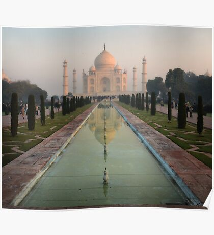 The Taj Mahal Poster