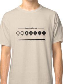 Aperture Chart Classic T-Shirt