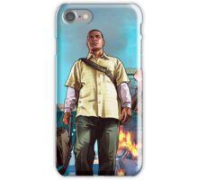 Gta v poster iPhone Case/Skin