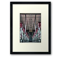 Midnight Train To Georgia Framed Print