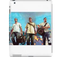 Gta v poster iPad Case/Skin