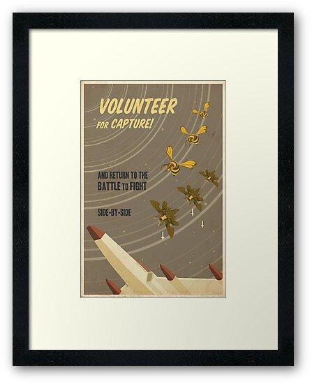 Volunteer for capture by stevethomasart