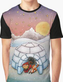 Igloo (Fox and Girl) Graphic T-Shirt