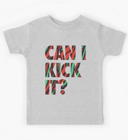 Just Kick It?  Kids Tee