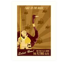 Take to the Skies Art Print