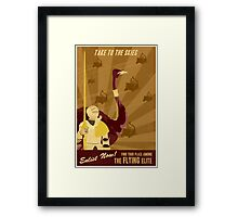 Take to the Skies Framed Print