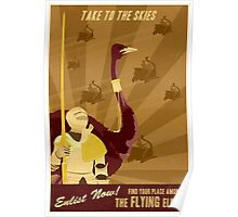 Take to the Skies Poster