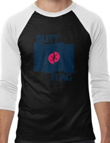 Butt Flag Men's Baseball ¾ T-Shirt